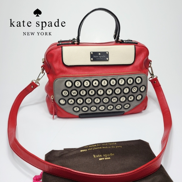 Kate Spade All Typed Up Clyde Crossbody Satchel